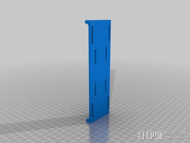 """""""蜂鸟2号""""四轴飞行器 3D模型  图8"""