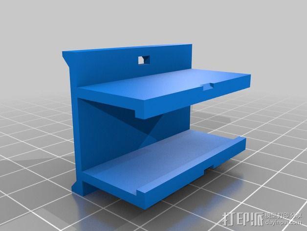 """""""蜂鸟2号""""四轴飞行器 3D模型  图12"""