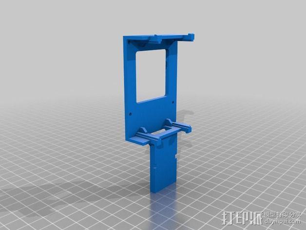 """""""蜂鸟2号""""四轴飞行器 3D模型  图14"""