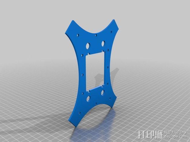 """""""蜂鸟2号""""四轴飞行器 3D模型  图13"""