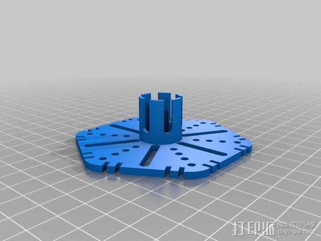 ZENDRONE六轴飞行器 3D模型  图12