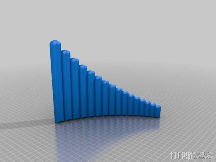 排箫 3D模型  图3