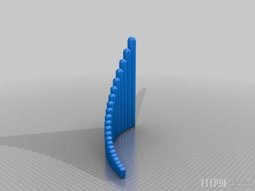 排箫 3D模型  图6