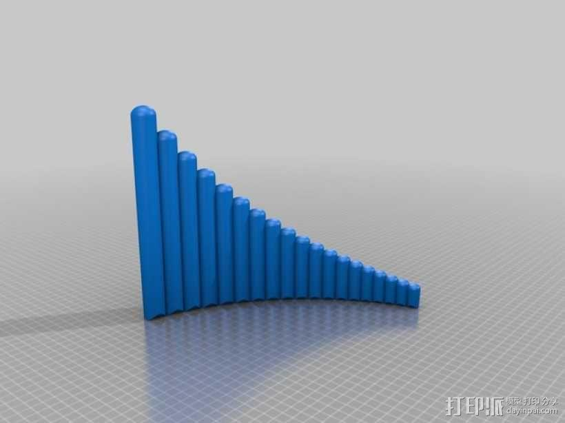 排箫 3D模型  图7