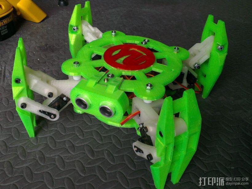 Turtlebot四足机器人 3D模型  图1