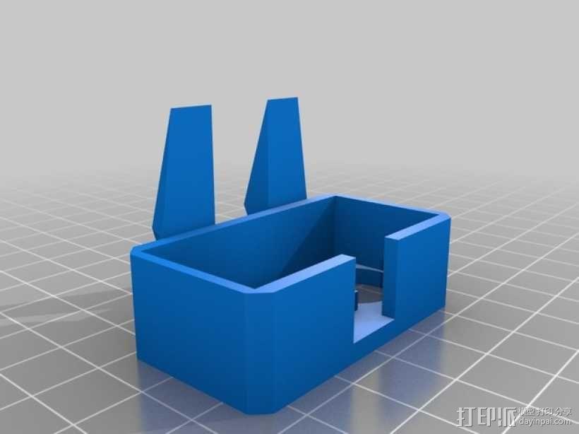 Turtlebot四足机器人 3D模型  图3