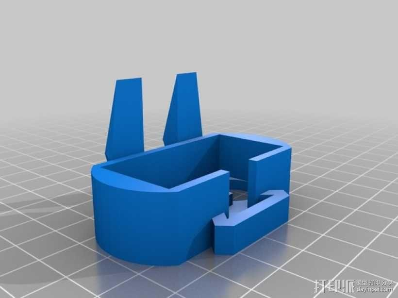 Turtlebot四足机器人 3D模型  图4