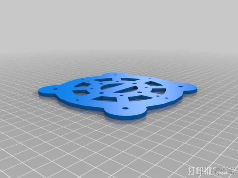 Turtlebot四足机器人 3D模型  图5