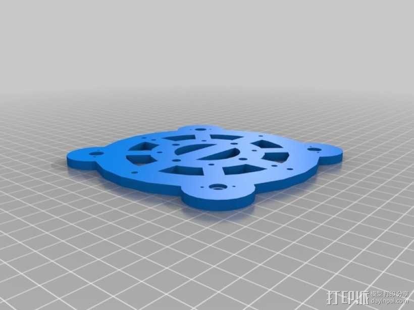 Turtlebot四足机器人 3D模型  图6
