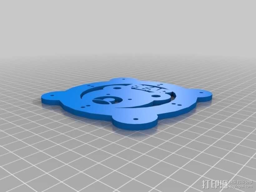 Turtlebot四足机器人 3D模型  图7