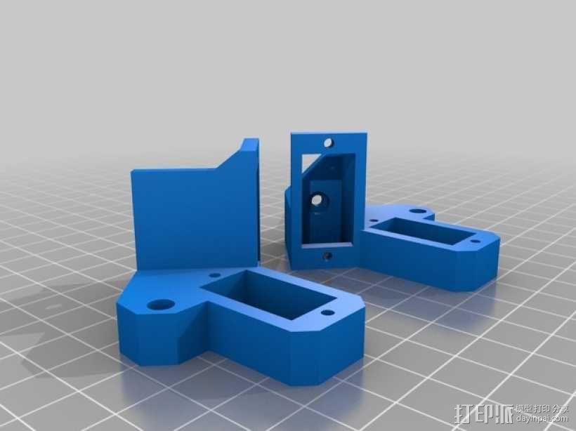 Turtlebot四足机器人 3D模型  图15