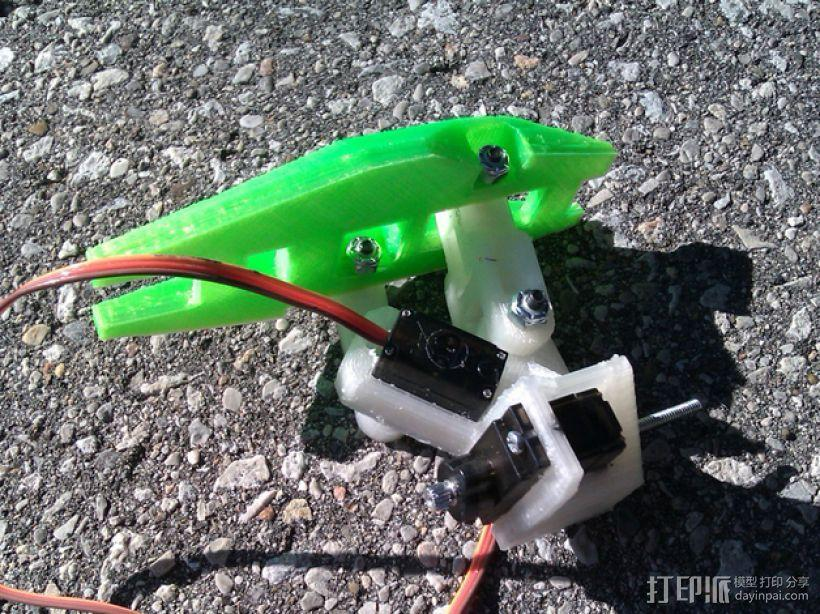 Turtlebot四足机器人 3D模型  图20