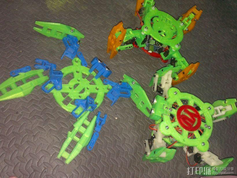 Turtlebot四足机器人 3D模型  图23