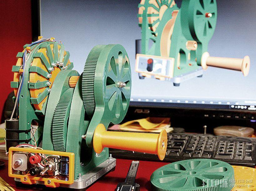 手动发电机 3D模型  图1