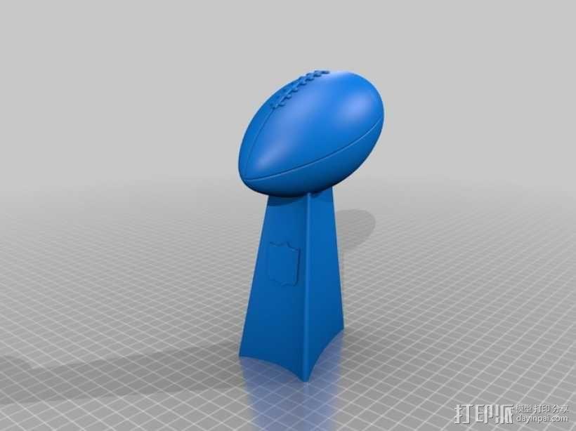 巴迪奖杯  3D模型  图1