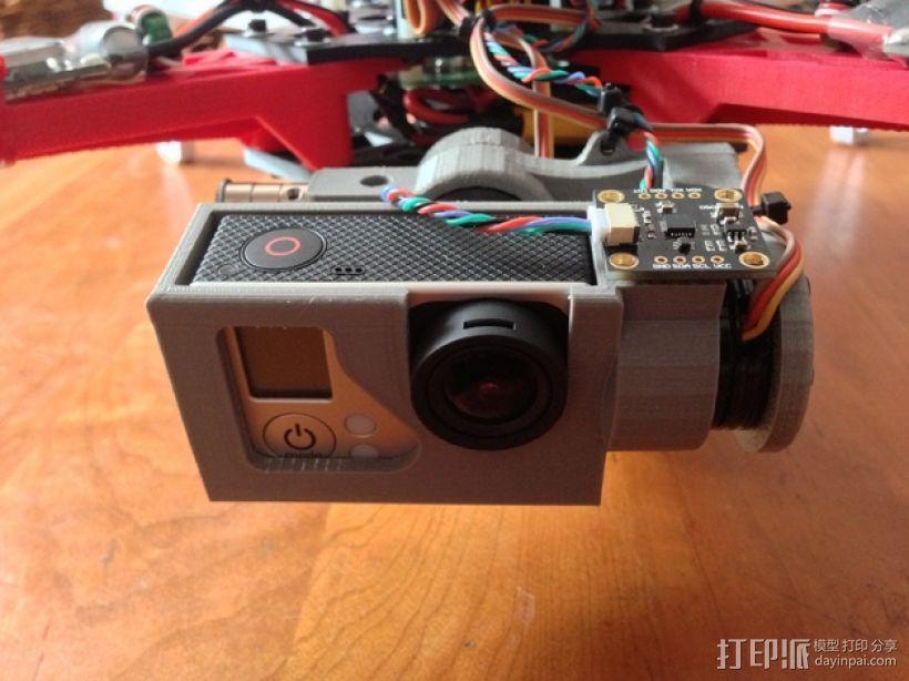 摄像机常平架 3D模型  图1