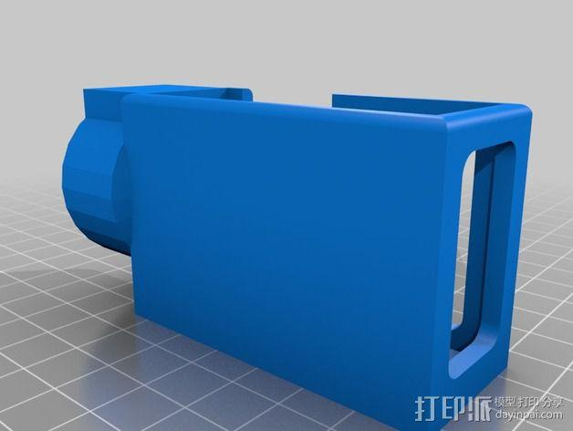 摄像机常平架 3D模型  图3