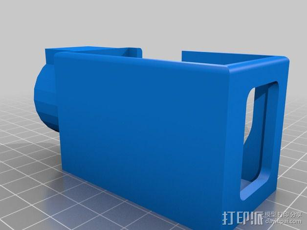 摄像机常平架 3D模型  图2