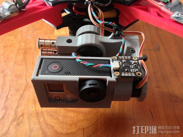 摄像机常平架 3D模型  图8