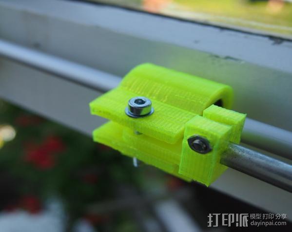 电动开窗器  3D模型  图3