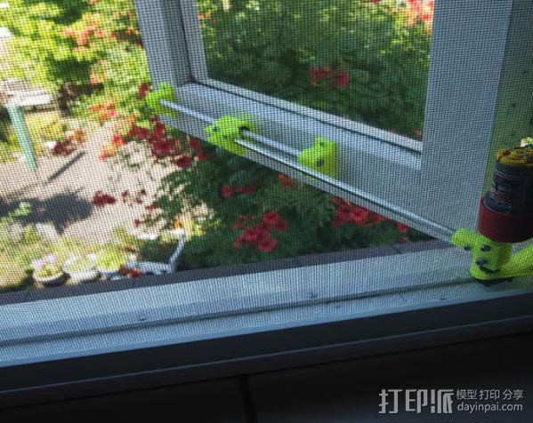 电动开窗器  3D模型  图4