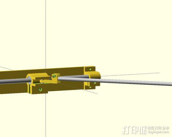 电动开窗器  3D模型  图8