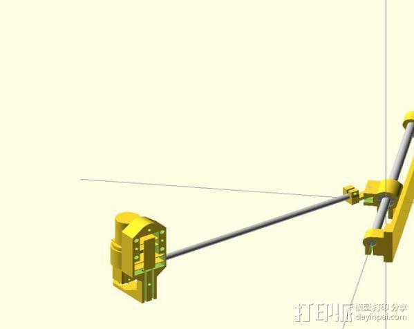 电动开窗器  3D模型  图13