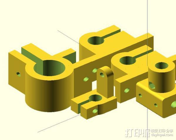 电动开窗器  3D模型  图11