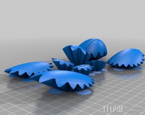 橄榄球 齿轮 3D模型  图5