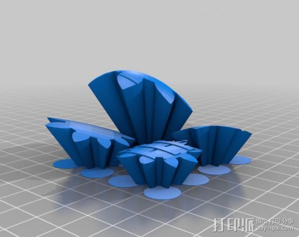 橄榄球 齿轮 3D模型  图8