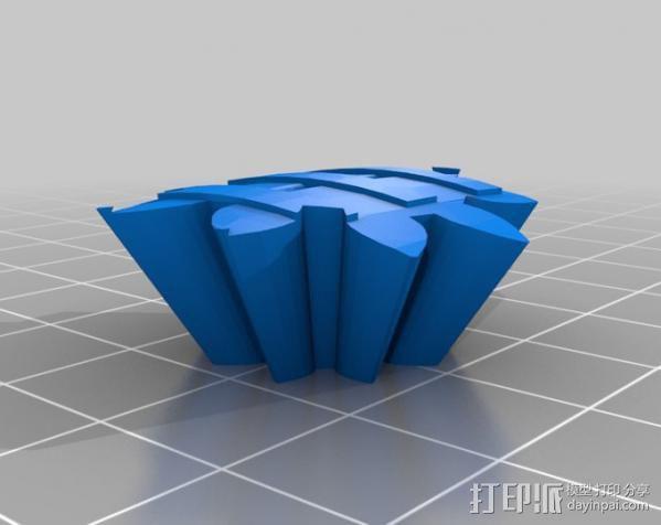 橄榄球 齿轮 3D模型  图9