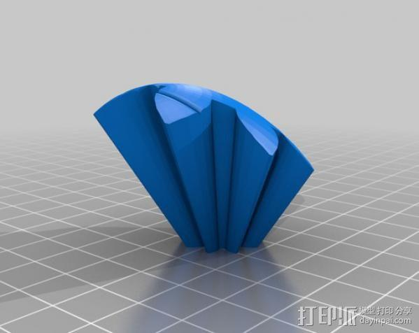 橄榄球 齿轮 3D模型  图11