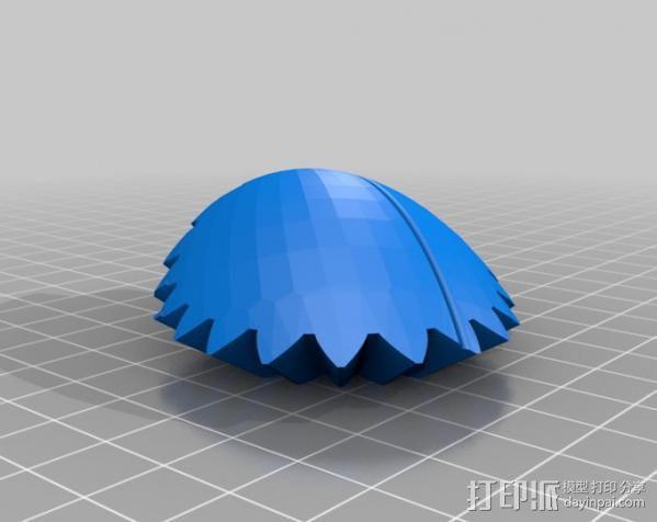 橄榄球 齿轮 3D模型  图12