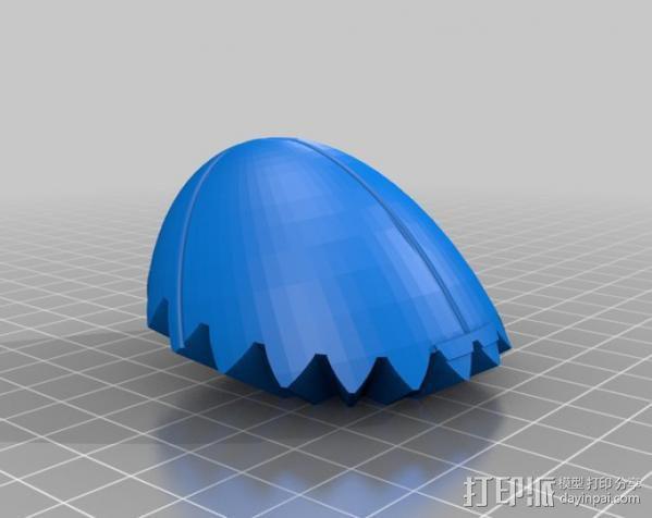 橄榄球 齿轮 3D模型  图14