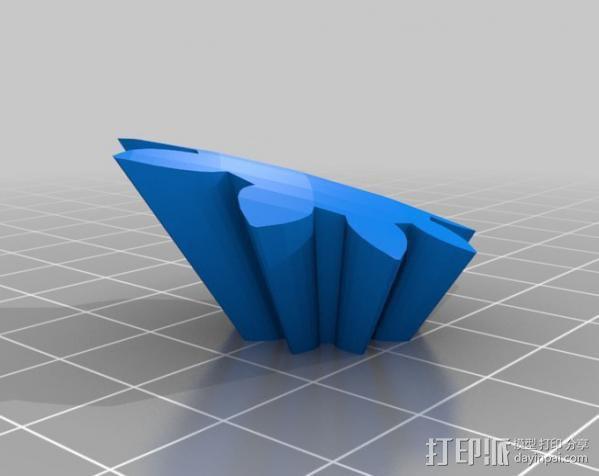 橄榄球 齿轮 3D模型  图13