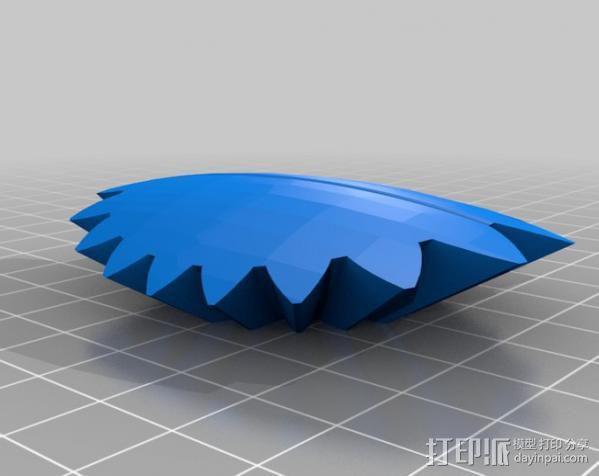 橄榄球 齿轮 3D模型  图15