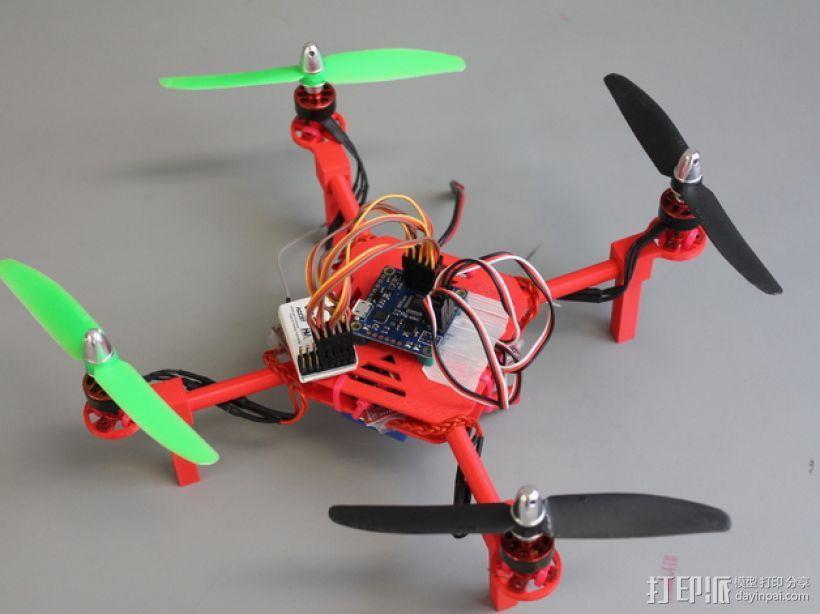 DIY迷你四轴飞行器 3D模型  图1