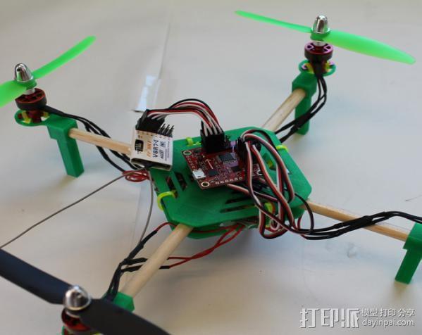 DIY迷你四轴飞行器 3D模型  图5