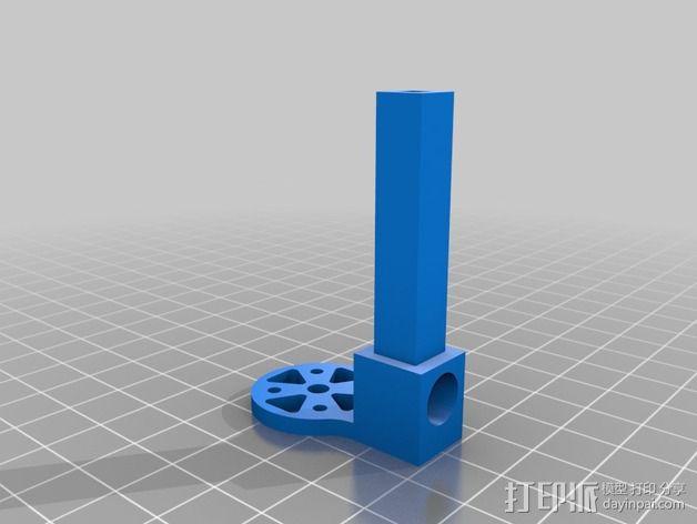 DIY迷你四轴飞行器 3D模型  图6