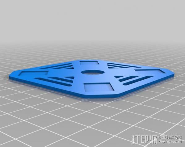 DIY迷你四轴飞行器 3D模型  图7