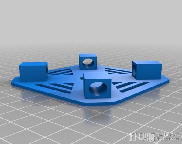 DIY迷你四轴飞行器 3D模型  图8