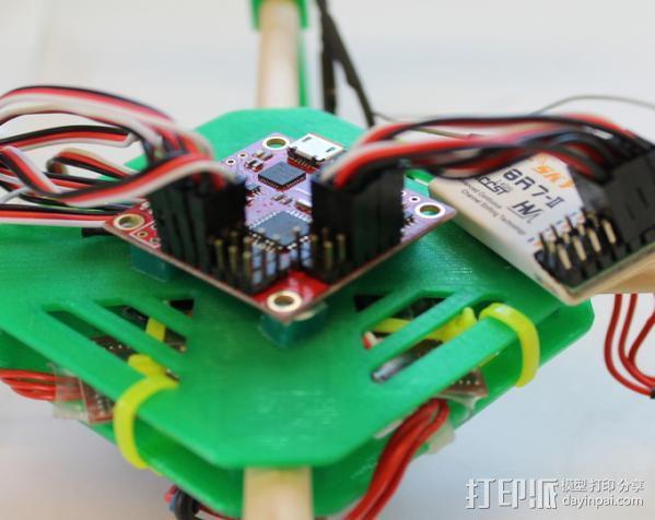 DIY迷你四轴飞行器 3D模型  图11