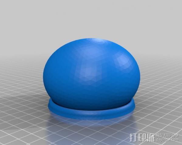 车载摄像机 常平架附件 3D模型  图6