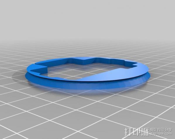 车载摄像机 常平架附件 3D模型  图8