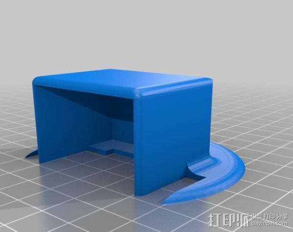 车载摄像机 常平架附件 3D模型  图7