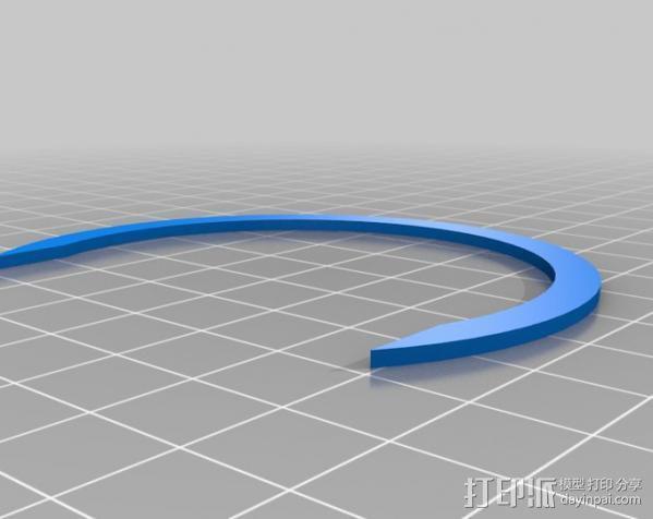 车载摄像机 常平架附件 3D模型  图9