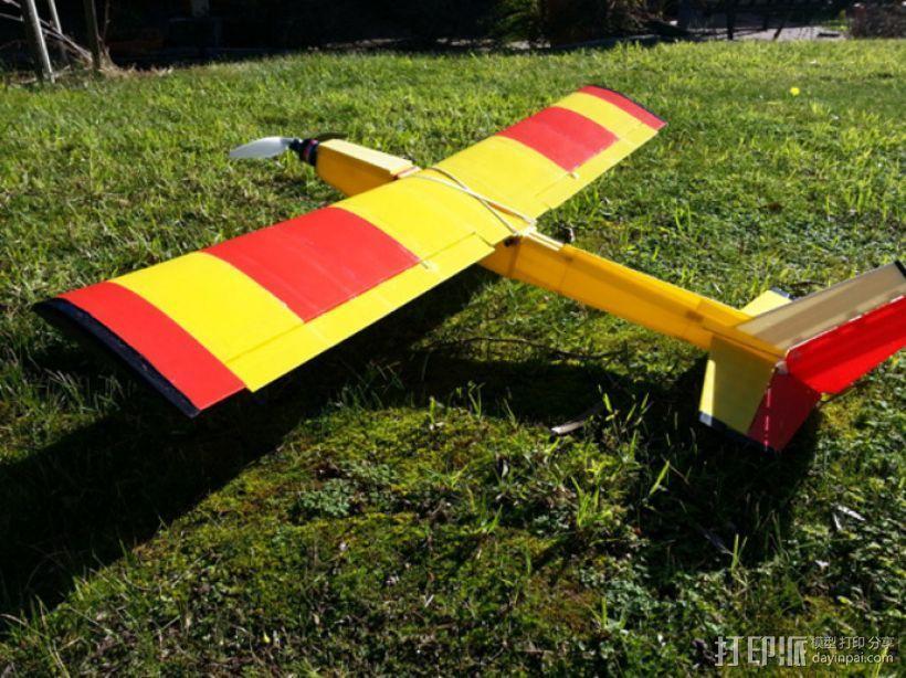飞机 模型 3D模型  图1