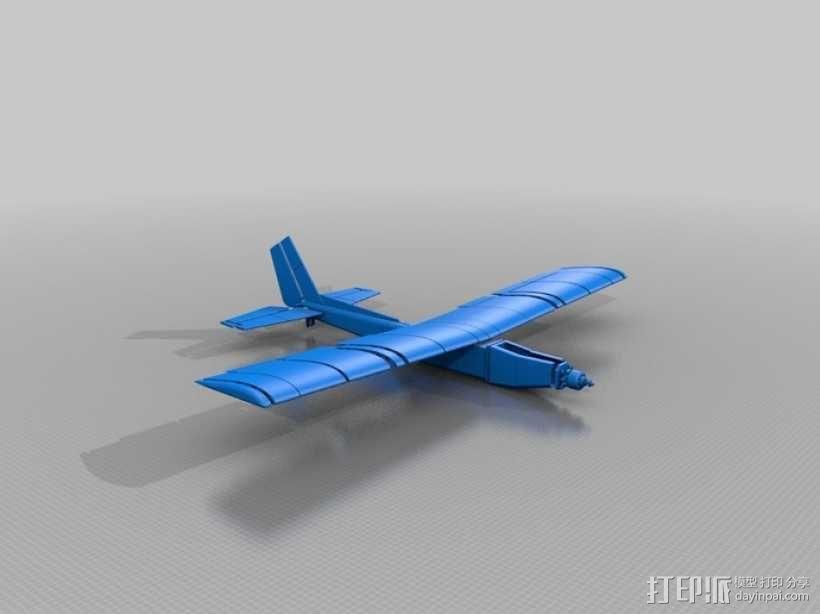 飞机 模型 3D模型  图2