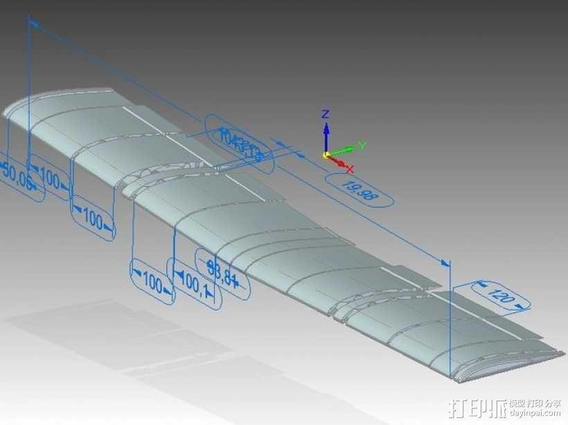 飞机 模型 3D模型  图103