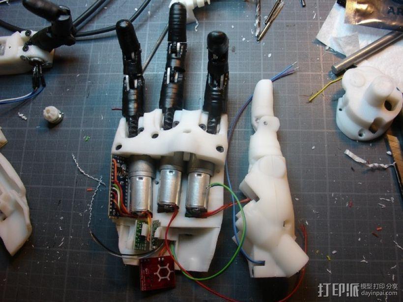 InMoov机械手 3D模型  图2